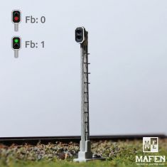 MAFEN 413601 SBB - Hauptsignal 2 LED - Rot, Grün