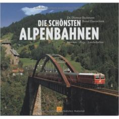 SWIBA 4843 Die schönsten Alpenbahnen - Gebunden