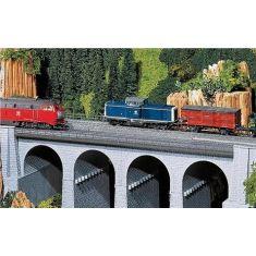 Faller 120477 Viadukt Oberteil gerade - H0