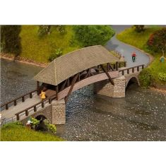 Faller 120494 Alte Luzerner Holzbrücke H0