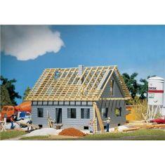 FALLER 130303 Einfamilienhaus im Bau m. Zubehör H0