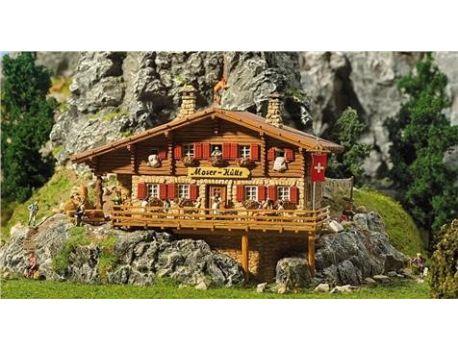 FALLER 130329 Hochgebirgshütte Moser-Hütte H0