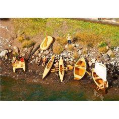 FALLER 130513 Verschiedene Boote und Tretboote